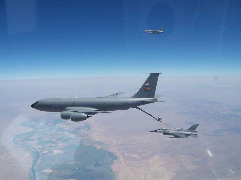 機密任務曝光!國軍<b>F-16</b>在美空中加油訓練 AIT罕見揭露