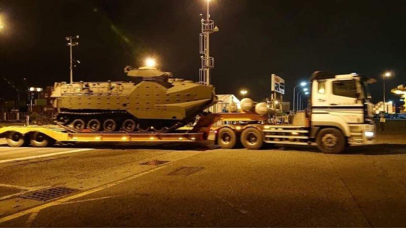 陸戰隊新購AAV7兩棲突擊車 AIT官洩7月交車照