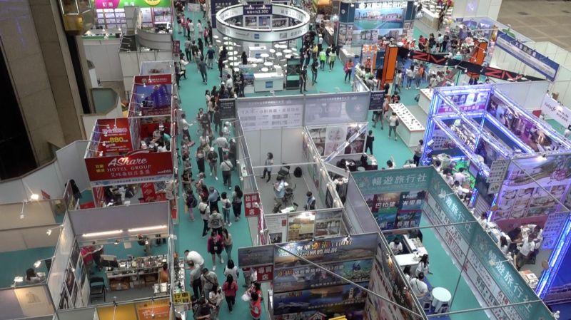 影/台北觀光博覽會開幕 雄獅:缺補助恐影響自由行買氣