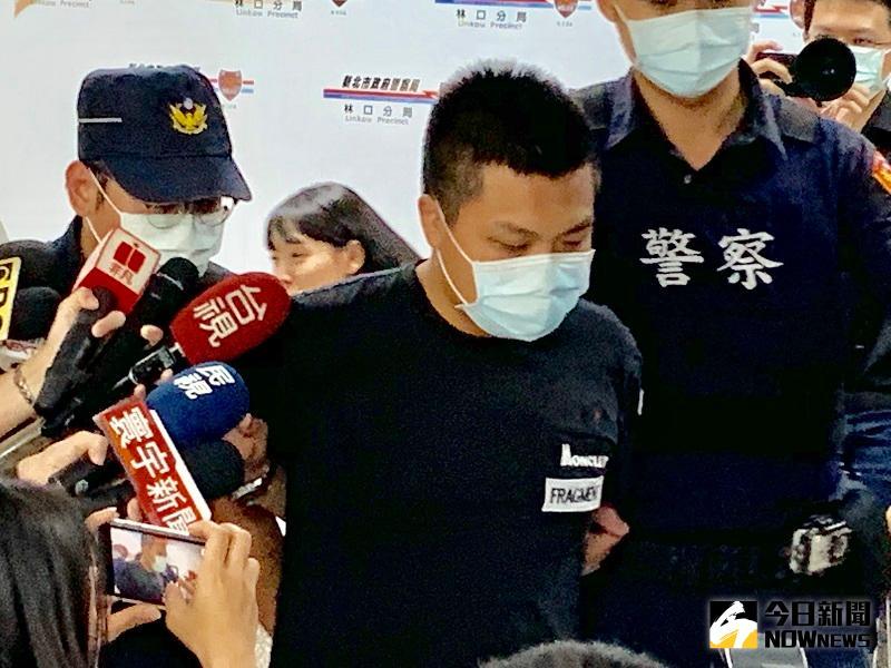 影/劉嫌移送新北地檢署 戴口罩全程不發一語