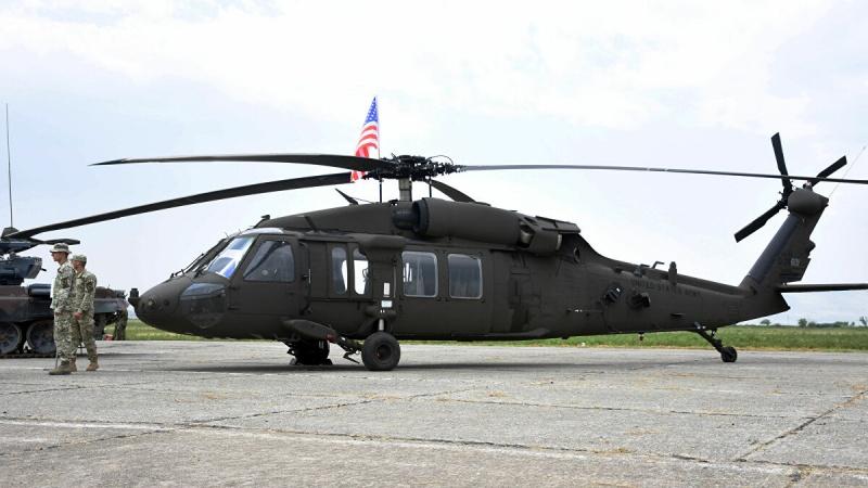 美軍<b>黑鷹</b>直升機南加州訓練墜毀 2死3傷