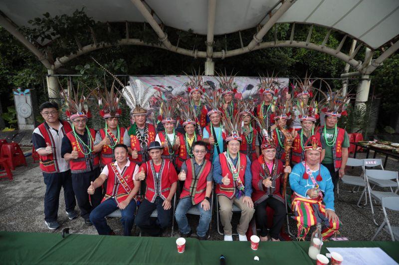 ▲基隆市原住民聯合豐年祭今(29)日在原住民文化會館廣場登場,仍展現原住民文化力與美。(圖/基隆市政府提供)