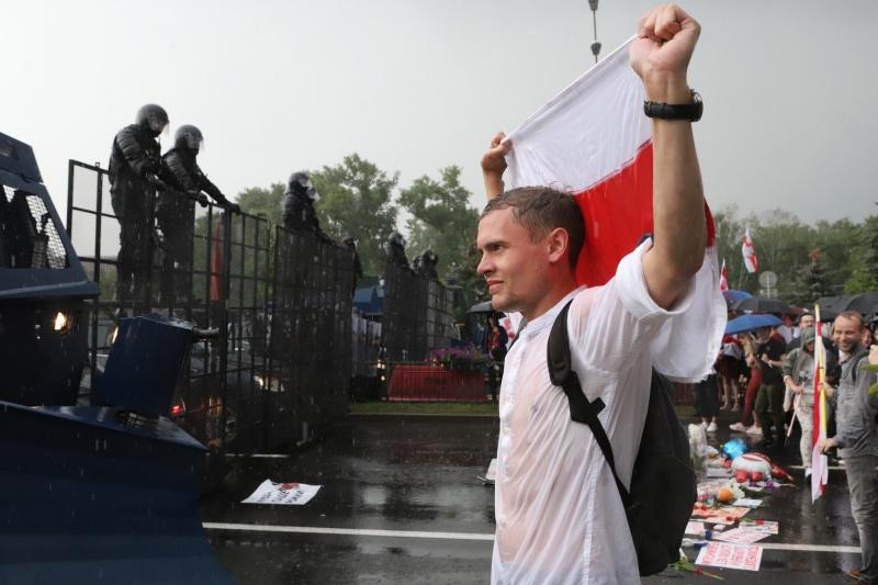 <b>白俄羅斯</b>反對派示威再起  警方逮捕125人