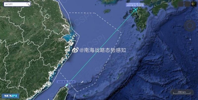 美<b>偵察機</b>被曝行蹤詭異 陸媒:疑似從台灣直接起飛