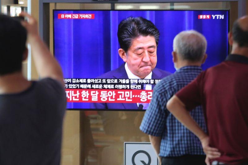 ▲日本首相安倍晉三8月28日因病辭職。(圖/美聯社/達志影像)