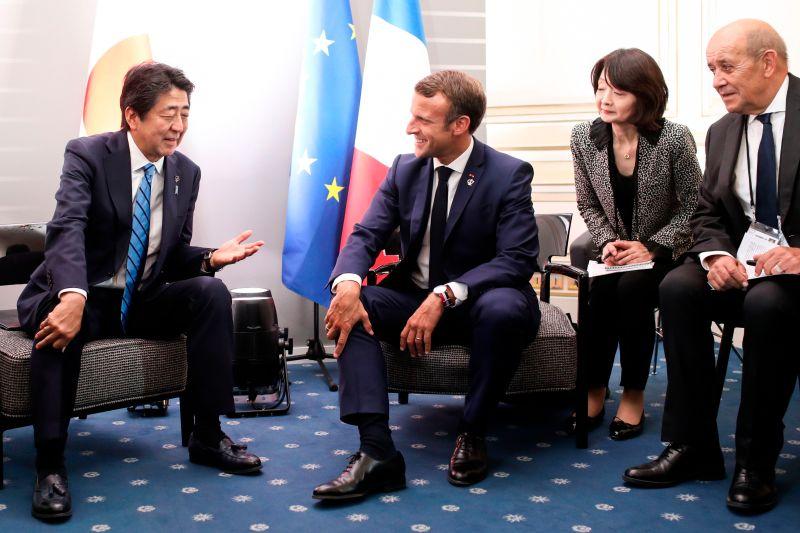 ▲安倍晉三積極深化日本與歐洲及中東國家之間的關係。(圖/美聯社/達志影像)