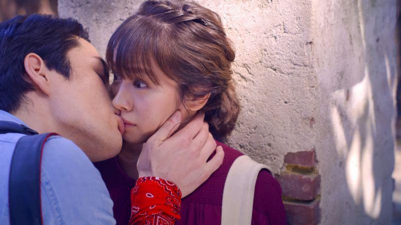 ▲黃姵嘉下周被日本攝影師強吻告白。(圖