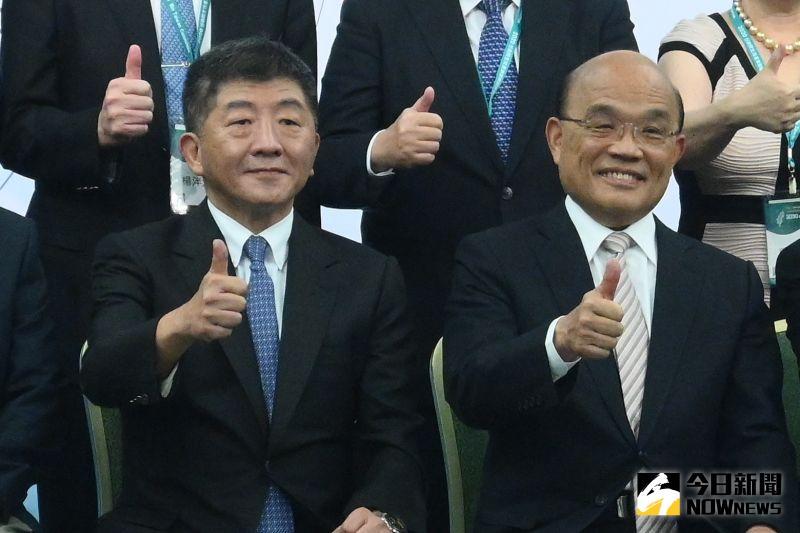 ▲行政院長蘇貞昌2020行政院生技產業策略諮議委員會議。(圖/攝影林柏年攝)