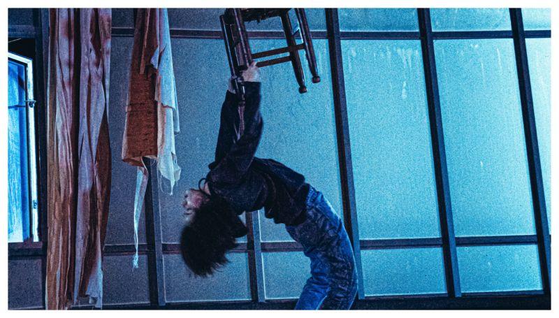 ▲《馗降:粽邪2》在大園空難「停放屍體」地方拍片。(圖/華影)
