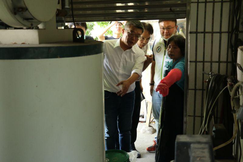 提升校園食安環境 <b>蔡其昌</b>爭取經費改善學校廚房設備