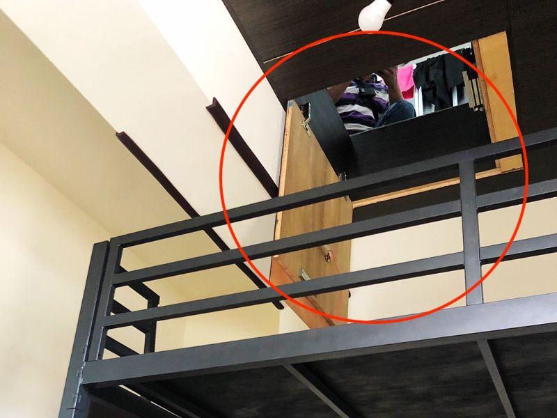 高雄失蹤少女竟藏在4樓密室夾層 警方平安帶回