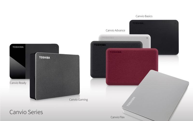 ▲TOSHIBA Canvio系列外接儲存裝置再添生力軍,發表全新外型設計與應用軟體。新推出Canvio Flex 和 Canvio Gaming 外接式硬碟  提供全新顏色與頂級質感。(圖/Toshiba提供)
