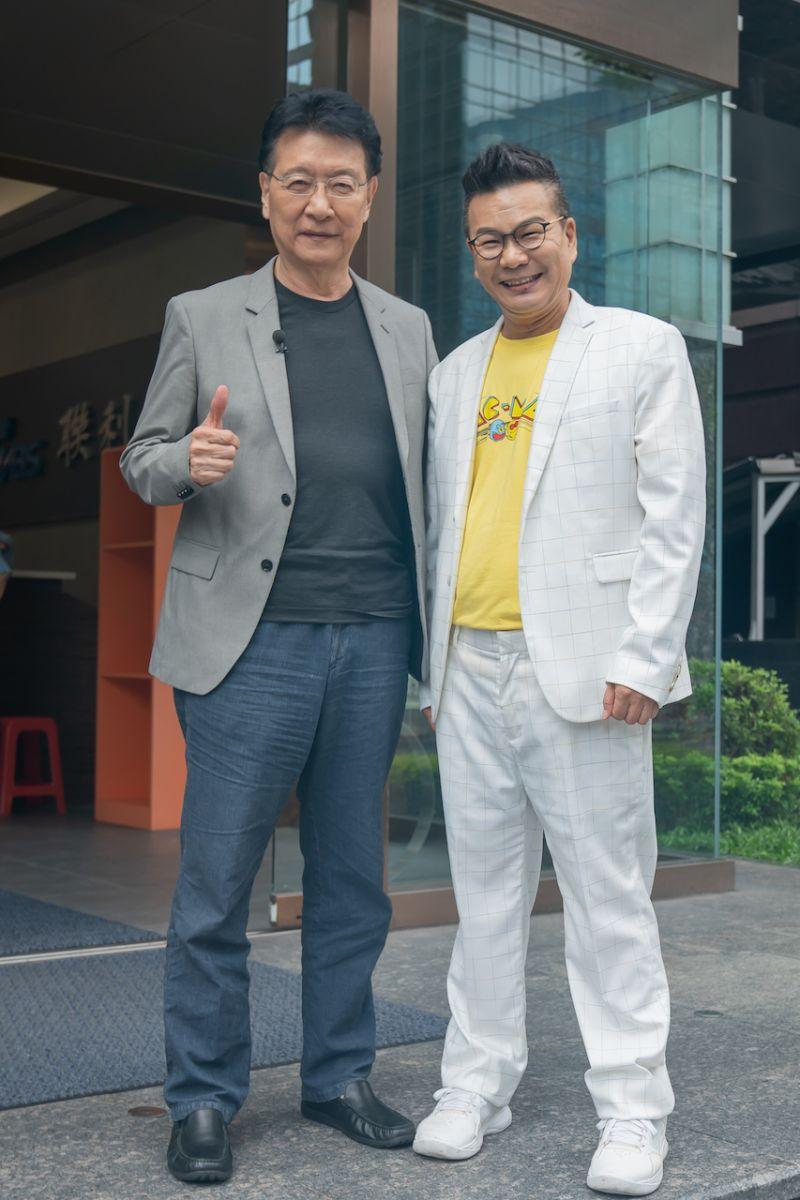 ▲趙少康(左)和沈玉琳口才都很好。(圖/TVBS提供)