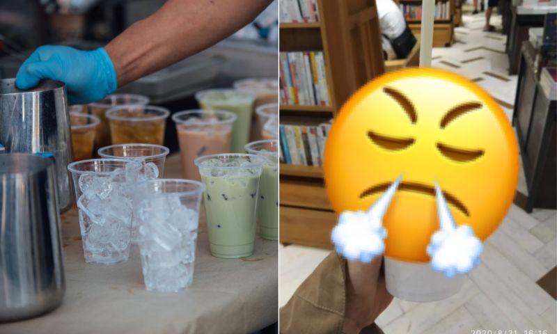 ▲女網友喝到超苦的酪梨牛奶,氣到PO網抱怨。(左示意圖,與文章中內容無關,取自unsplash/右圖,翻攝自《Dcard》)