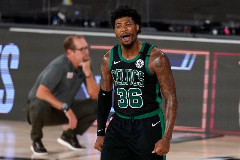 NBA/聰明哥末節連進5顆三分 綠軍逆轉暴龍系列賽2連勝