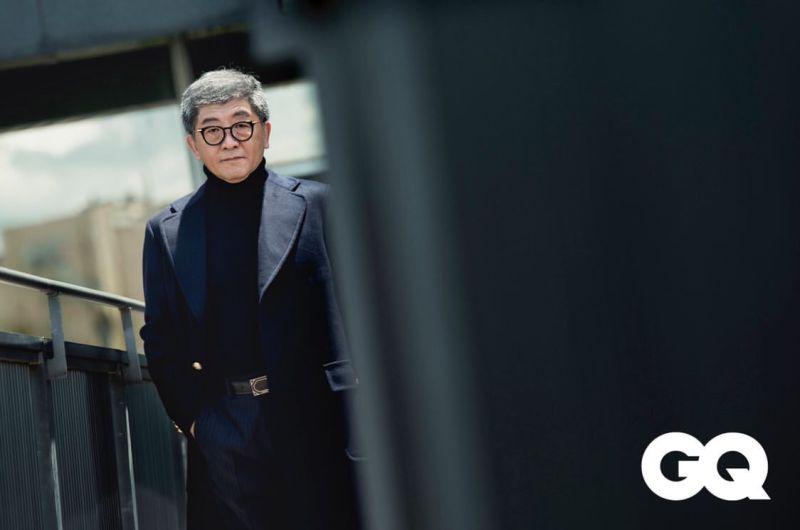 ▲衛福部長陳時中登上時尚雜誌GQ的封面。(圖/GQ