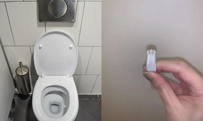 ▲女網友崩潰表示牙刷被拿來刷馬桶和洗手台。(左示意圖,取自pixabay/右圖,翻攝自《Dcard》)