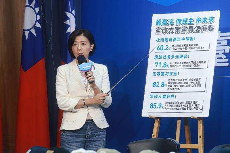 路線定調!藍:81%黨員支持「基於中華民國<b>憲法</b>的92共識」