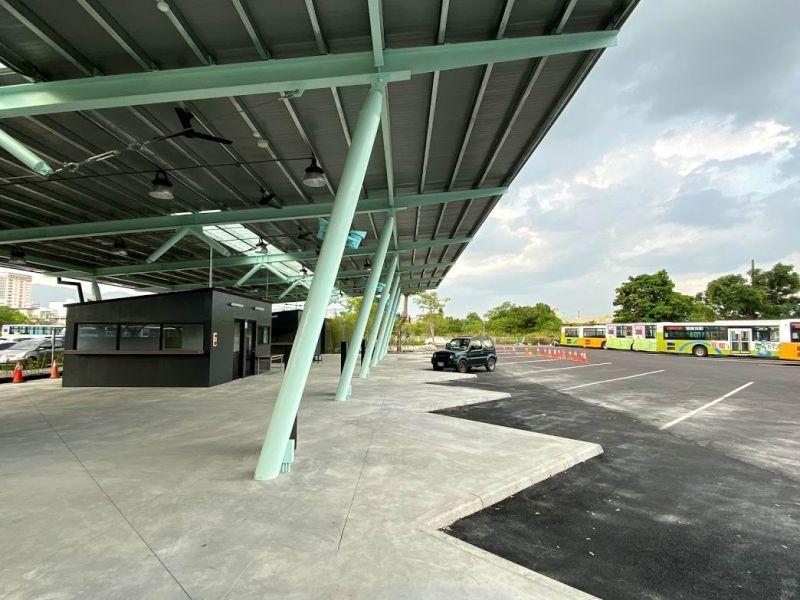 宜蘭臨時轉運站要改建了 臨時新站暫取代