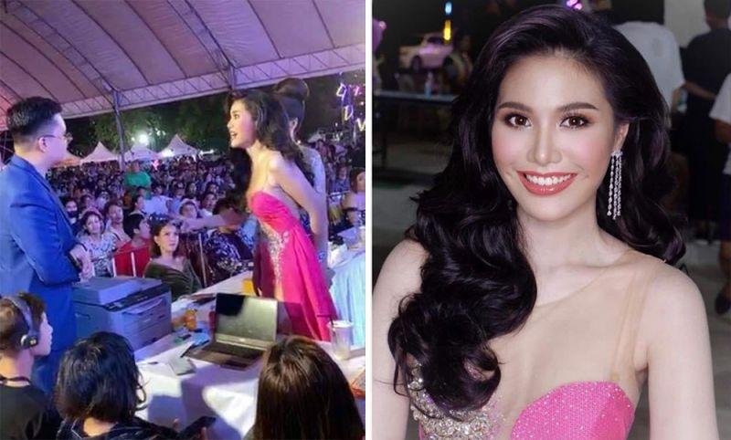 泰國<b>選美</b>比賽疑黑箱作業 美女參賽者爆氣衝上台理論