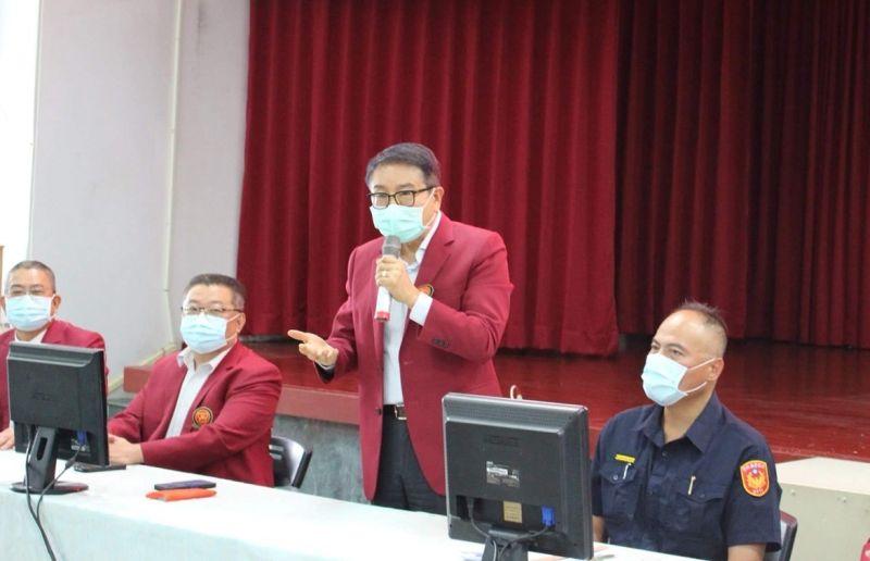 北港警緝獲販毒案 關懷協會專程打氣