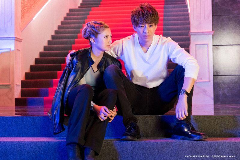 ▲安齊Kalen(左)主演《M~歌姬戀曲奏響時~》成名。(圖/WAKUWAKU