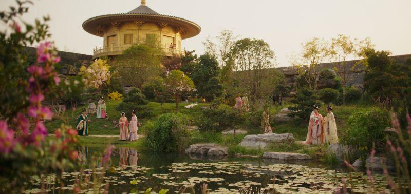 ▲《花木蘭》許多場景皆由專業工匠團隊打造。(圖/迪士尼)