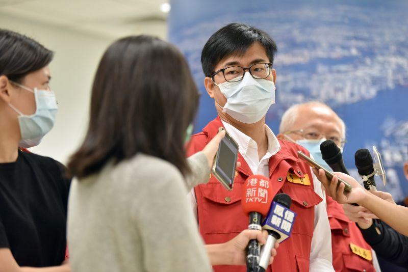 高雄市長陳其邁表示,對於加利公司負責人的發言「非常不以為然」。(高雄市政府提供)