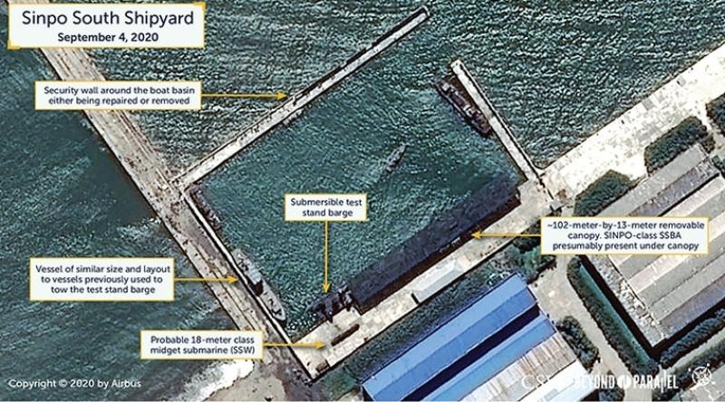 美智庫影像:<b>北韓</b>疑似準備潛射彈道飛彈試射