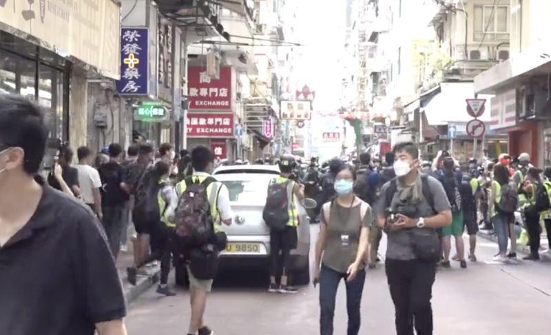 香港網友發起反國安法遊行  暫未見大量示威者