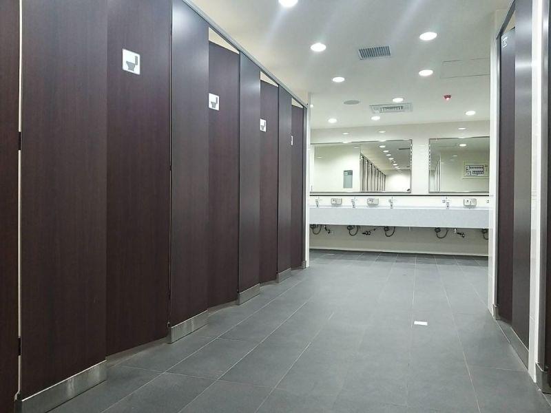 ▲一名網友指出,自己在捷運上廁所20分鐘,沒想到一出來卻遭到許多人關切。(圖/翻攝台北捷運臉書)