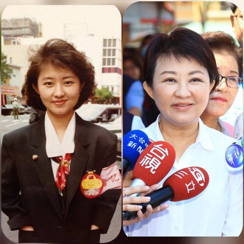 網翻盧秀燕年輕照片「北韓 主播感」 盧:大家開心就好