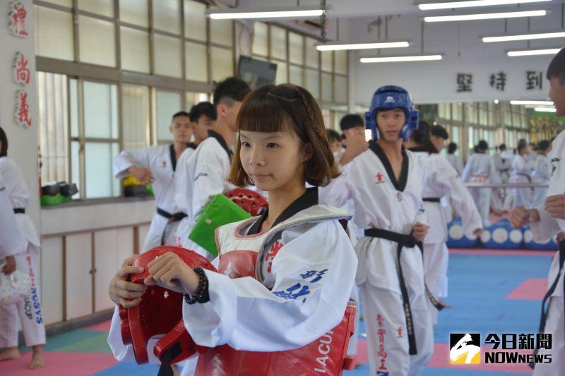 影/彰化<b>跆拳道</b>美少女 踢出世界青少年國手夢