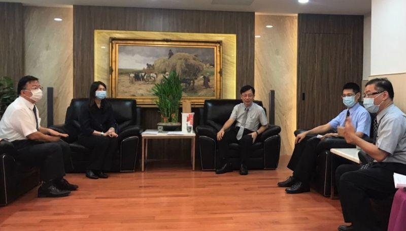 反毒超前部署 毒防局長林瑩蓉拜會<b>地檢署</b>尋求緊密合作