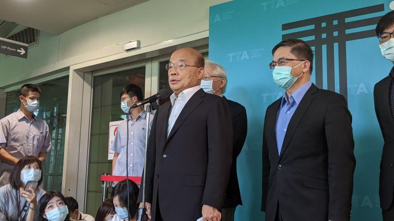 陳時中、鄭麗君選台北市長?蘇貞昌:都是人才