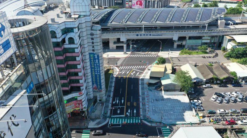 ▲延宕13年的大智路打通,終於通車了。(圖/市政府提供2020.9.10)