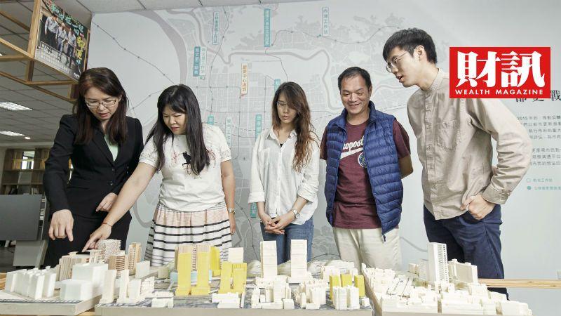 ▲為了加速危老重建,台北市放寬建築物高度比,增加改建誘因。