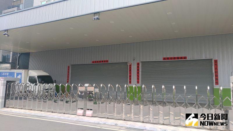 ▲豪品公司涉嫌販售假MIT口罩遭法辦後,工廠大門緊閉。(圖/記者陳雅芳攝,2020.09.10)