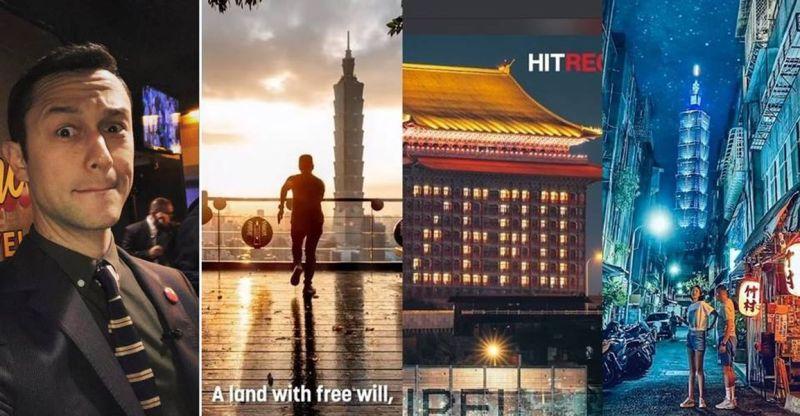 <b>好萊塢男神</b>PO影片「讚美台灣」 國旗、小吃、美景全都錄