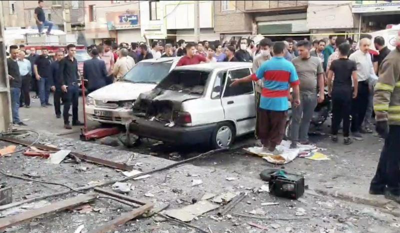<b>德黑蘭</b>電池廠大爆炸 1死1重傷