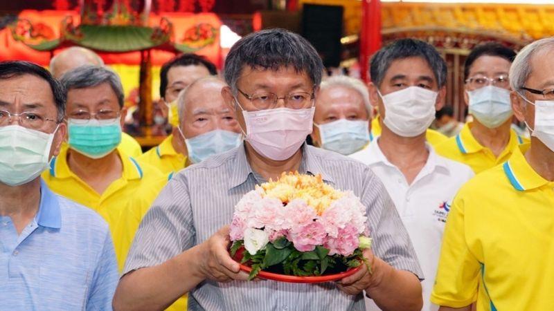 ▲台北市長柯文哲12日表示,如果中國大陸不解釋王金平被指「求和」的理由,「那這個大概就破局了」。(圖/台北市政府提供)