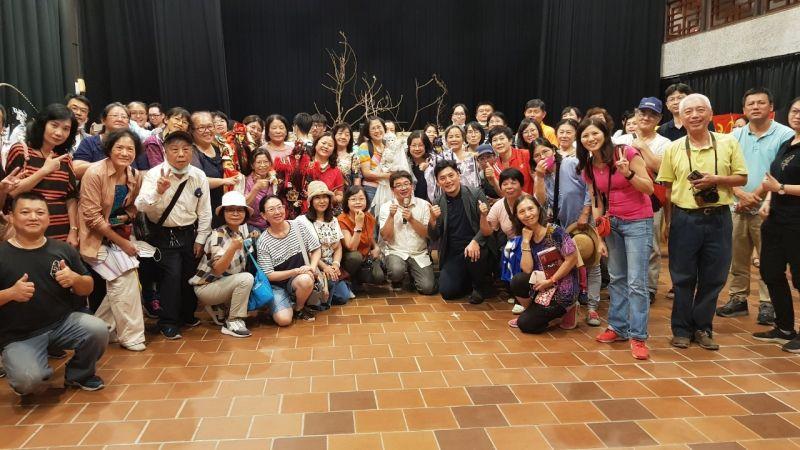 百位市民研究員訪嘉義表藝中心 藝文交流