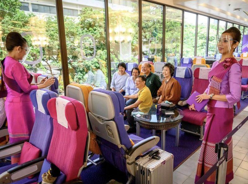 泰國飛機咖啡廳走紅 顧客<b>偽出國</b>過乾癮