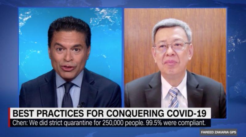 台灣防疫真的超猛?網深夜驚見CNN一畫面 全場嗨炸