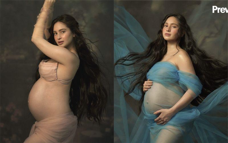 菲律賓女星喜迎首個寶寶!孕照飄仙氣
