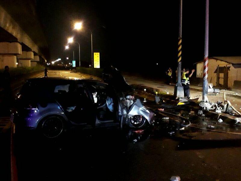 台南重大死亡車禍 酒駕闖紅燈釀1死3傷