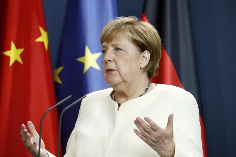 ▲中國戰機屢屢侵入台灣防空識別區,德國總理梅克爾對此表示憂心,認為挑釁的行動可能演變成軍事衝突。資料照。(圖/美聯社/達志影像)