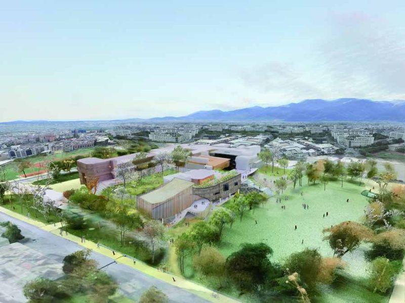 宜縣文化局圖書館新舘 預計112年10月完工