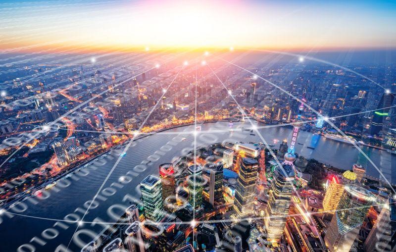 ▲中國主要的一線城市,5G涵蓋率已相當高,「十四五」規畫更將為5G發展計畫注入活水。(圖/Shutterstock)