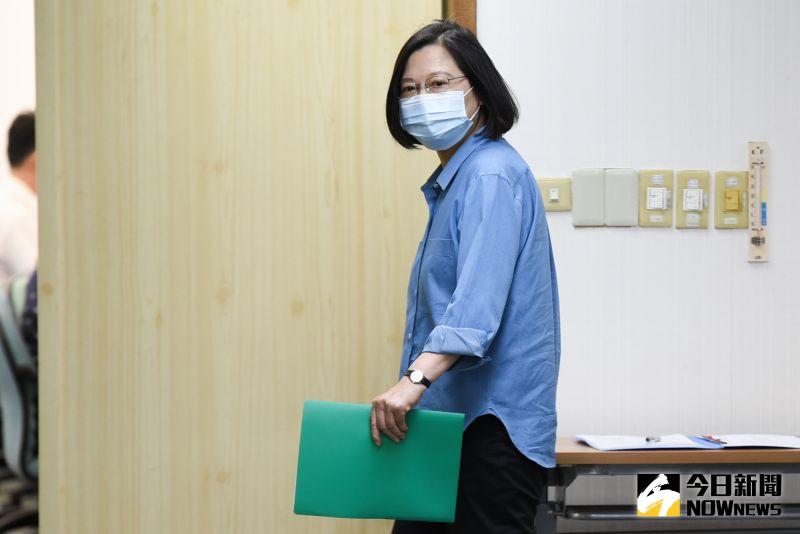 國人面對文攻武嚇處變不驚 蔡英文:是台灣的挑戰與<b>機會</b>